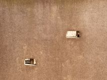 Pläterad träklättringväggstege på ungelekplats Fotografering för Bildbyråer