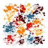 Plätschern Sie Farben-Vektor Stockbild