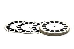 Plättchenbandspulen des Filmes 3D   Lizenzfreies Stockbild