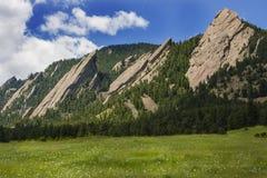 Plätteisen in Boulder Colorado Lizenzfreie Stockfotos