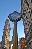 Plätteisen-Gebäude, New York City, USA Lizenzfreies Stockbild