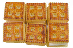 Plätzchen, backen, gebacken, Nachtisch, Bäckerei, Zucker, der Bonbon, geschmackvoll Stockfotografie