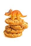 Plätzchen-Dinosaurier Stockfotografie