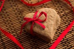 Plätzchen für Valentine& x27; s-Tag Lizenzfreie Stockfotografie