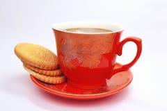 Plätzchen und Kaffee Lizenzfreie Stockfotografie