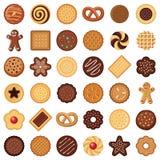 Plätzchen und Keks stock abbildung