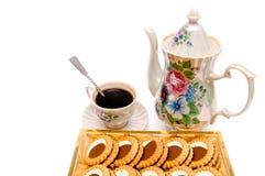 Plätzchen vom Kaffee Lizenzfreies Stockfoto