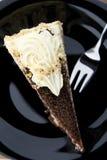 Plätzchenkuchen von oben Lizenzfreies Stockbild