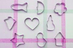 Plätzchenscherblöcke stockbild