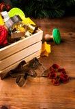 Plätzchenschneider für die Herstellung von Weihnachtsplätzchen Lizenzfreie Stockbilder