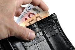 plånbok Royaltyfri Bild
