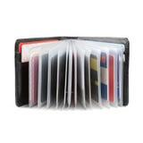 plånbok för affärskort Arkivbilder
