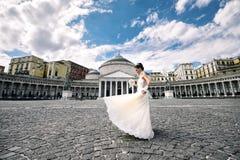 Plébiscite carré de mariage à Naples Images stock