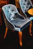 Plüsch-Stuhl Lizenzfreies Stockbild