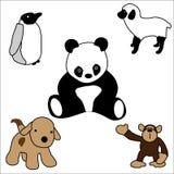 Plüsch-Tier-Spielwaren stockbild
