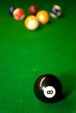 pöl för amerikanska bollar Fotografering för Bildbyråer