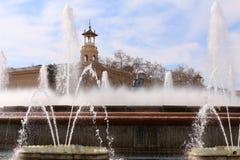 Plaça D ` Espanya Royalty-vrije Stock Afbeelding