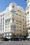 Plaça de l'Ajuntament, València Imagem de Stock Royalty Free
