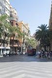 Plaça de l'Ajuntament, València Imagens de Stock
