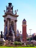 Plaça Espanya Lizenzfreie Stockfotografie