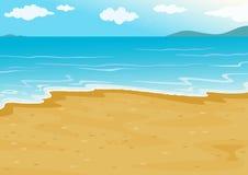 plaża ilustracji
