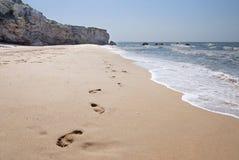 plaża dezerterująca Zdjęcia Royalty Free