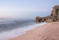 plaża dezerterująca obraz stock