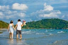 plaża dobiera się odprowadzenie obrazy royalty free