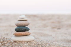 plaża dryluje zen zdjęcia royalty free