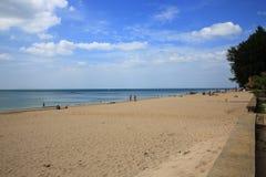 Plaża, drzewa, Phra Ae plaża, Ko Lanta, Tajlandia Zdjęcia Royalty Free