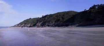 Plaża Francja zdjęcie stock
