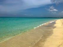 Plaża gdzieś w Cuba obraz royalty free