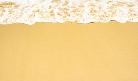 Plaża i piękny tropikalny morze Ciepły lata morze z błękitnym wate Fotografia Stock