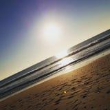 Plaża i słońce w Hiszpania Fotografia Royalty Free
