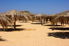 plaża jest opustoszała Zdjęcia Stock