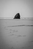 plaża jest opustoszała Fotografia Stock