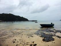 plaża jest opustoszała Zdjęcie Stock