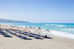 Plaża Kalamaki obraz stock