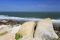 Plaża liuao miasteczko Obrazy Stock