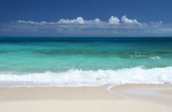 Plaża Mały Exuma, Bahamas Zdjęcia Stock