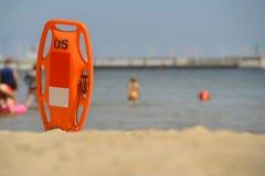 plaża może target2699_0_ życie pogodnego Obraz Royalty Free