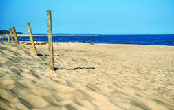 Plaża morze bałtyckie w Polska Obraz Royalty Free