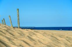 Plaża morze bałtyckie w Polska Obrazy Royalty Free