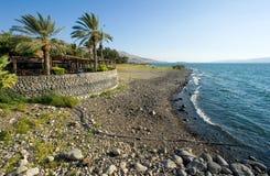 Plaża morze Galilee Obraz Stock