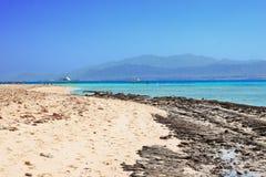 Plaża na Czerwonym Morzu obraz royalty free