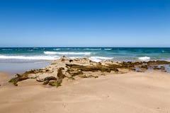 Plaża na lecie zdjęcia royalty free