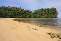 plaża odosabniał Obrazy Royalty Free