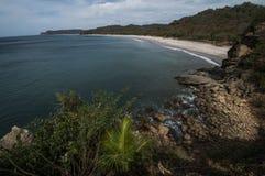 plaża odosabniająca Obrazy Stock