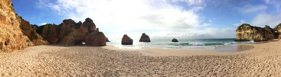 plaża odosabniająca Zdjęcie Stock