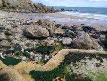 plaża odosabniająca Zdjęcie Royalty Free